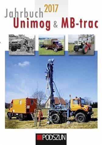 Gebundenes Buch »Jahrbuch Unimog & MB-trac 2017«