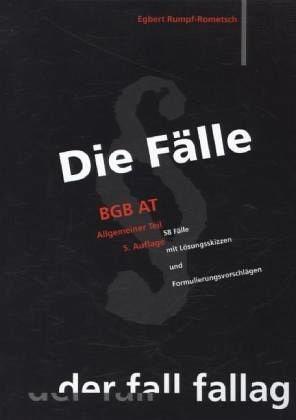 Broschiertes Buch »Die Fälle. BGB AT«