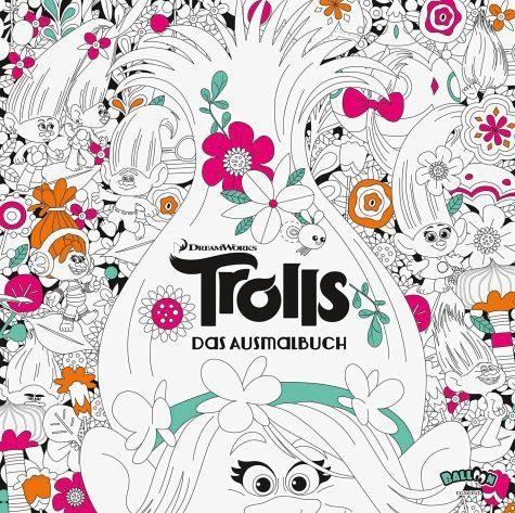 Broschiertes Buch »Trolls - Das Ausmalbuch«