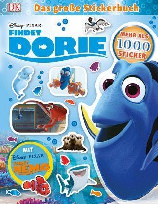 Broschiertes Buch »Disney Pixar Findet Dorie Das große Stickerbuch«