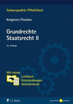 Audio CD mit DVD »Grundrechte. Staatsrecht II«