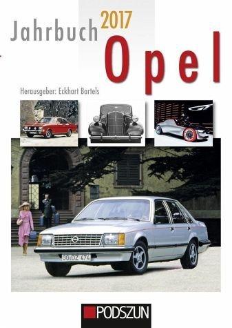 Gebundenes Buch »Jahrbuch Opel 2017«