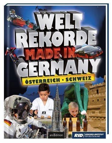 Gebundenes Buch »Weltrekorde Made in Germany, Österreich, Schweiz«