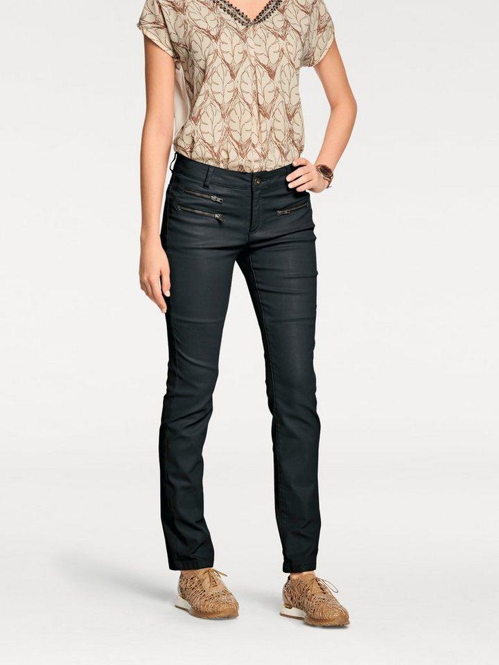 RICK CARDONA by Heine Jeans mit Zippertaschen in schwarz