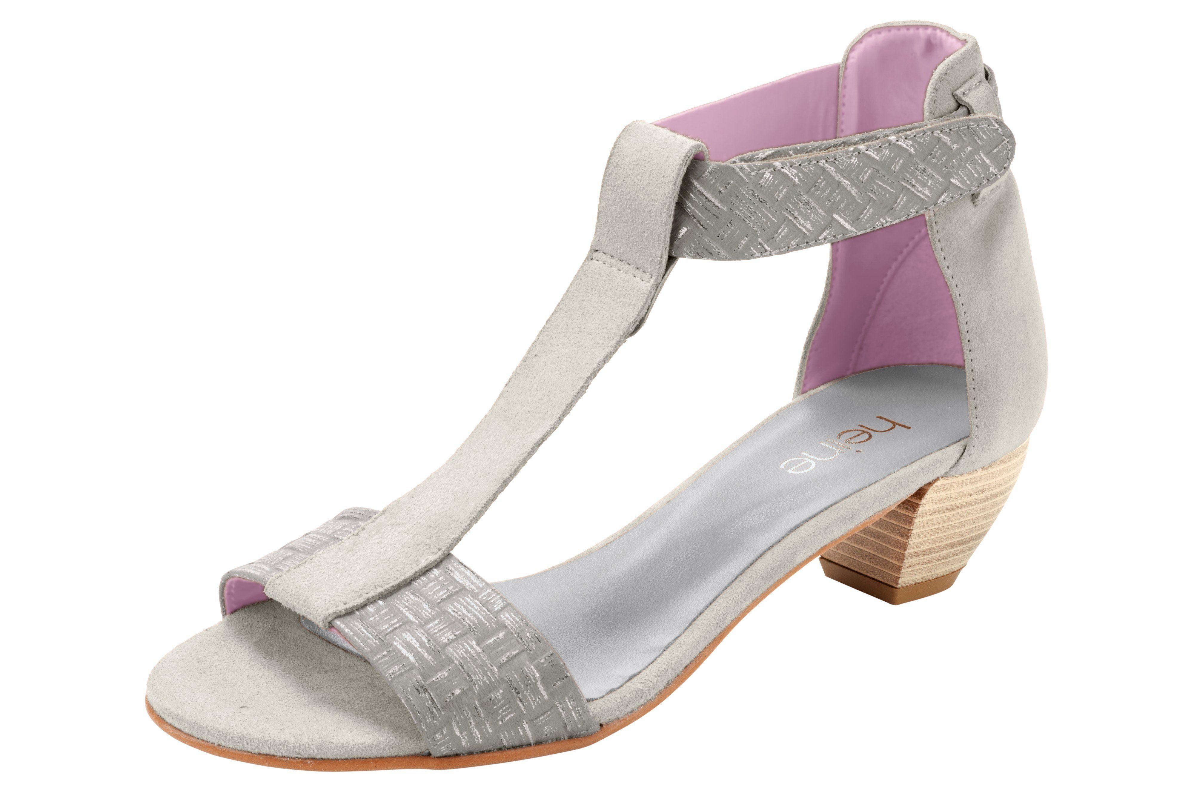 Heine Sandalette Sandalette Heine online kaufen  grau 2e4c31