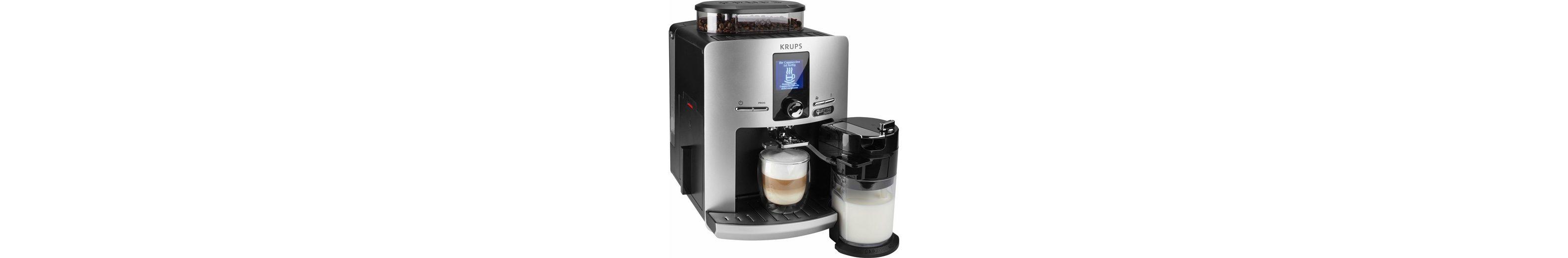 Krups Kaffeevollautomat EA82FE Latt'Espress Quattro Force, 50€ Gutschein geschenkt