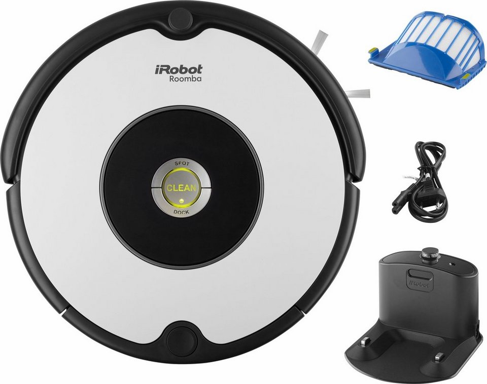 iRobot Staubsaug-Roboter Roomba 605, weiß in weiß