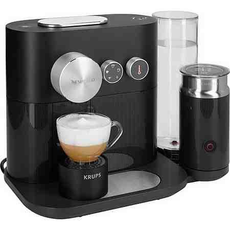 Krups NESPRESSO Kapselmaschine »XN6018 Expert&Milk« mit Aeroccino3 und Bluetooth, 19 bar,schwarz