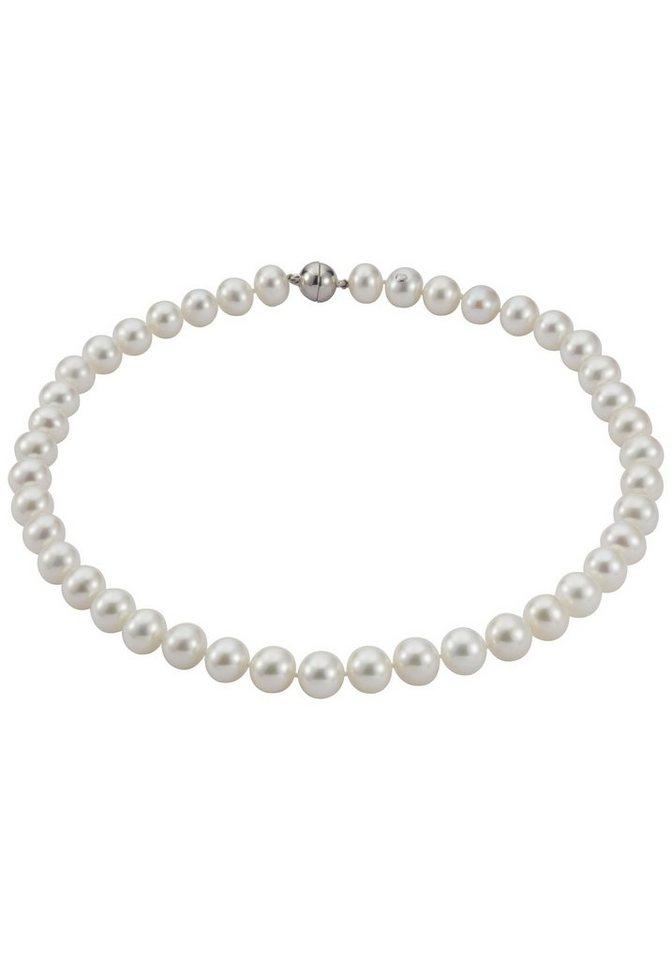 Adriana Perlenkette »A80« mit Süßwasserzuchtperle in weiß