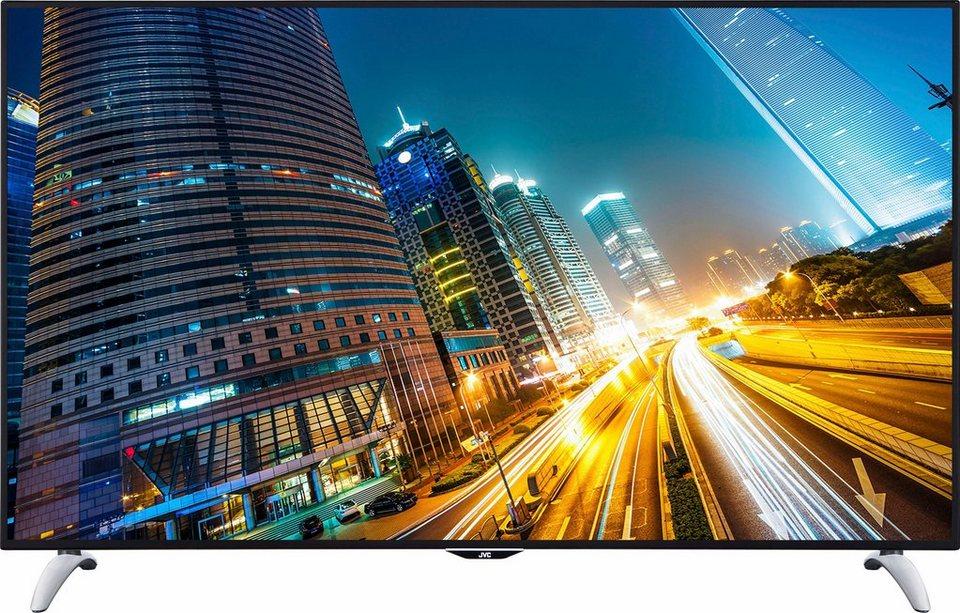 JVC LT-65VU83B, LED Fernseher, 165 cm (65 Zoll), 2160p (4K Ultra HD), Smart-TV in schwarz