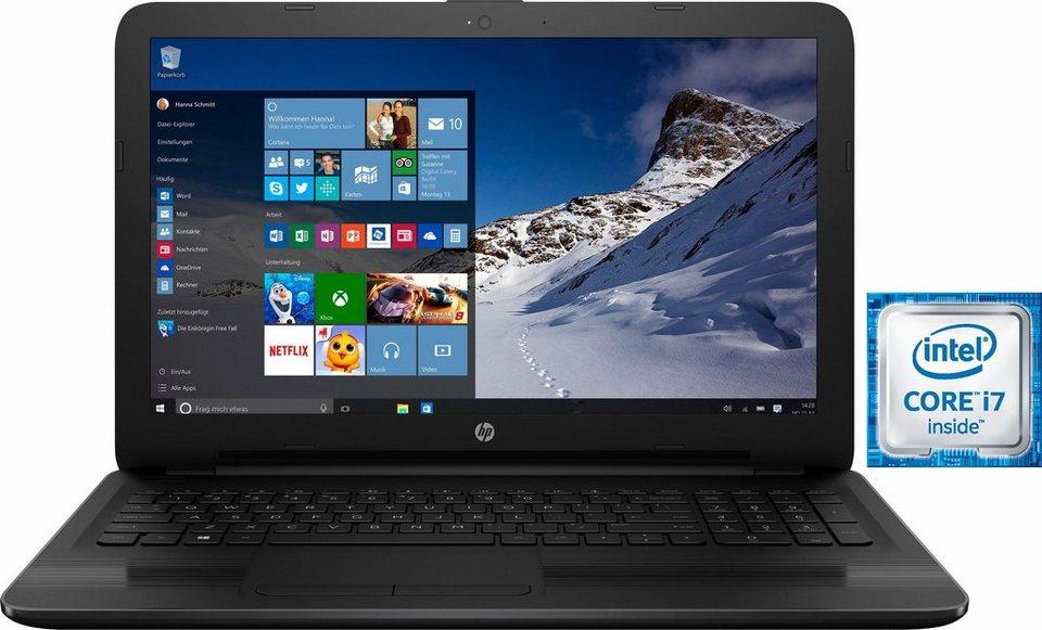 HP 17-x113ng Notebook, Intel® Core™ i7, 43,9 cm (17,3 Zoll), 256 GB Speicher, 8192 MB DDR4-SDRAM in schwarz