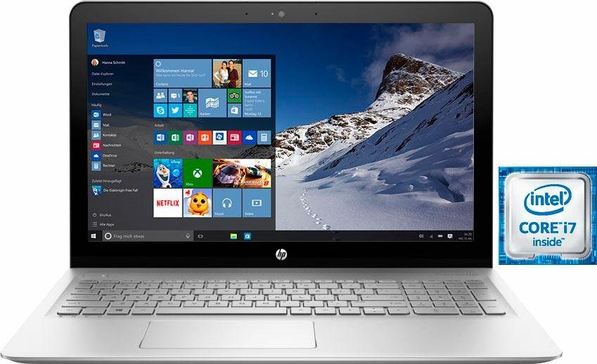 HP 15-as102ng Notebook, Intel® Core™ i7, 39,6 cm (15,6 Zoll), 1128 GB Speicher, 8192 MB DDR4-SDRAM in silberfarben