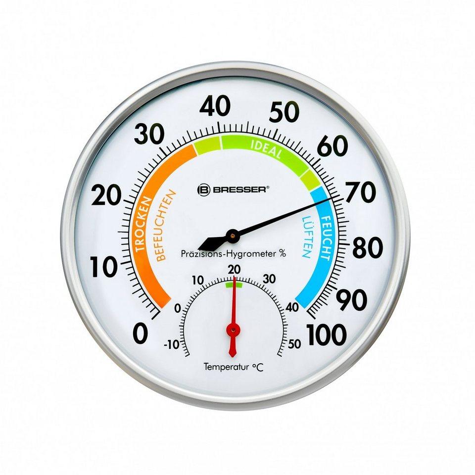 Bresser Hygrometer »Bresser Präzisions Hygrometer« in silver