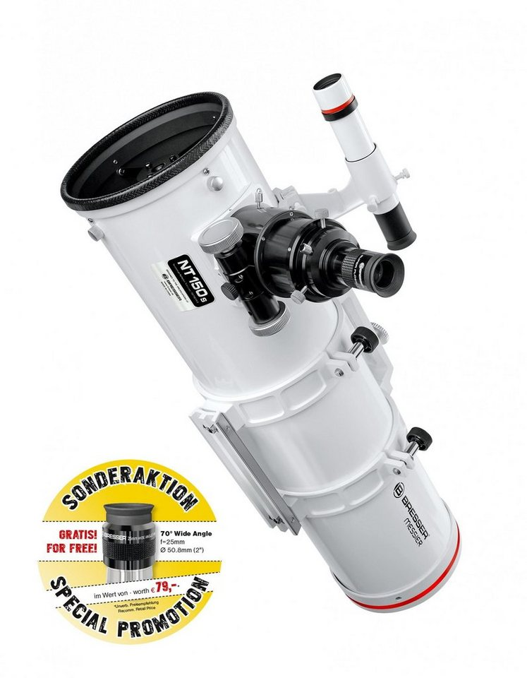 BRESSER Teleskop »Bresser Messier NT-150S/750 Optischer Tubus«