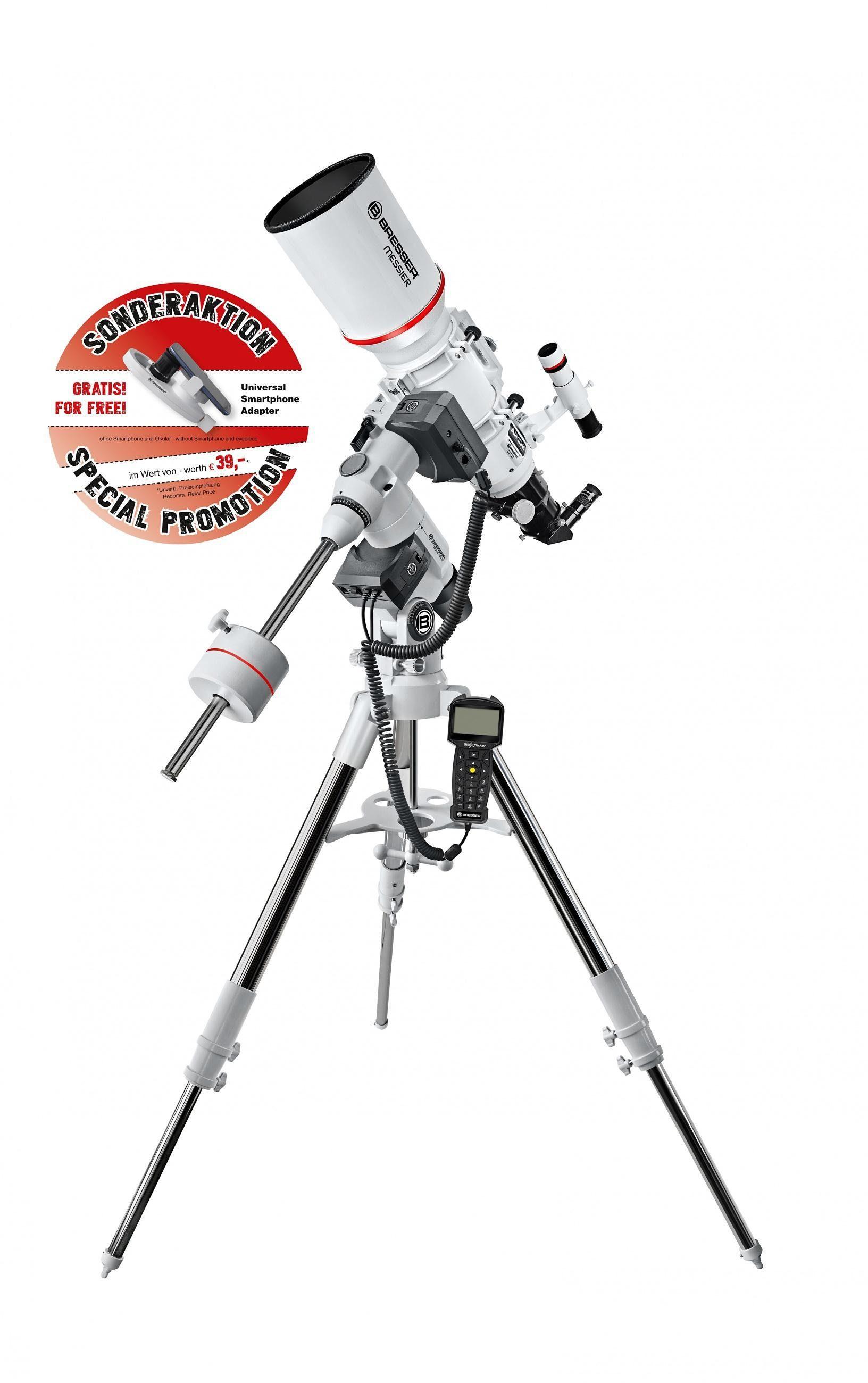 BRESSER Teleskop »BRESSER Messier AR-102S/600 EXOS-2 GoTo Hexafoc«