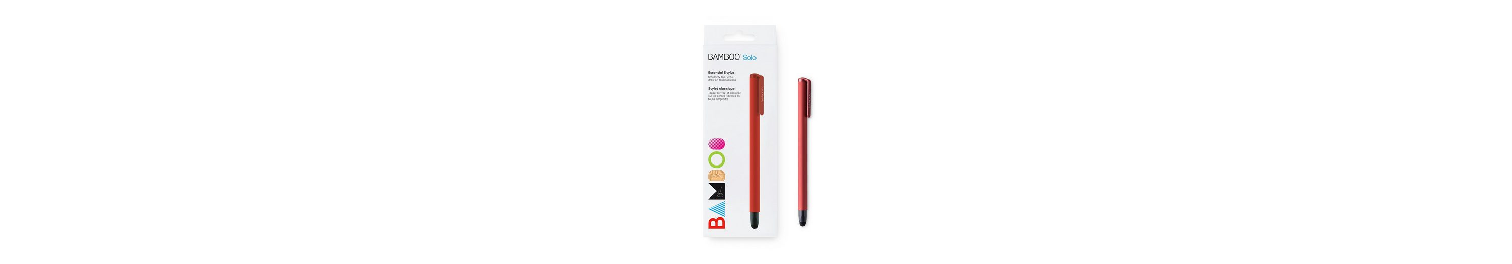 Wacom Tablet-Zubehör »BAMBOO STYLUS SOLO4 RED«