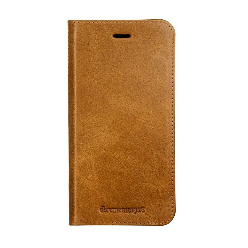 dbramante1928 LederCase »Folio Frederiksberg 3 iPhone (7) Golden Tan« in braun