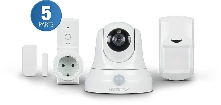 SPEEDLINK Videoüberwachungssystem »Home Security Set Basic«