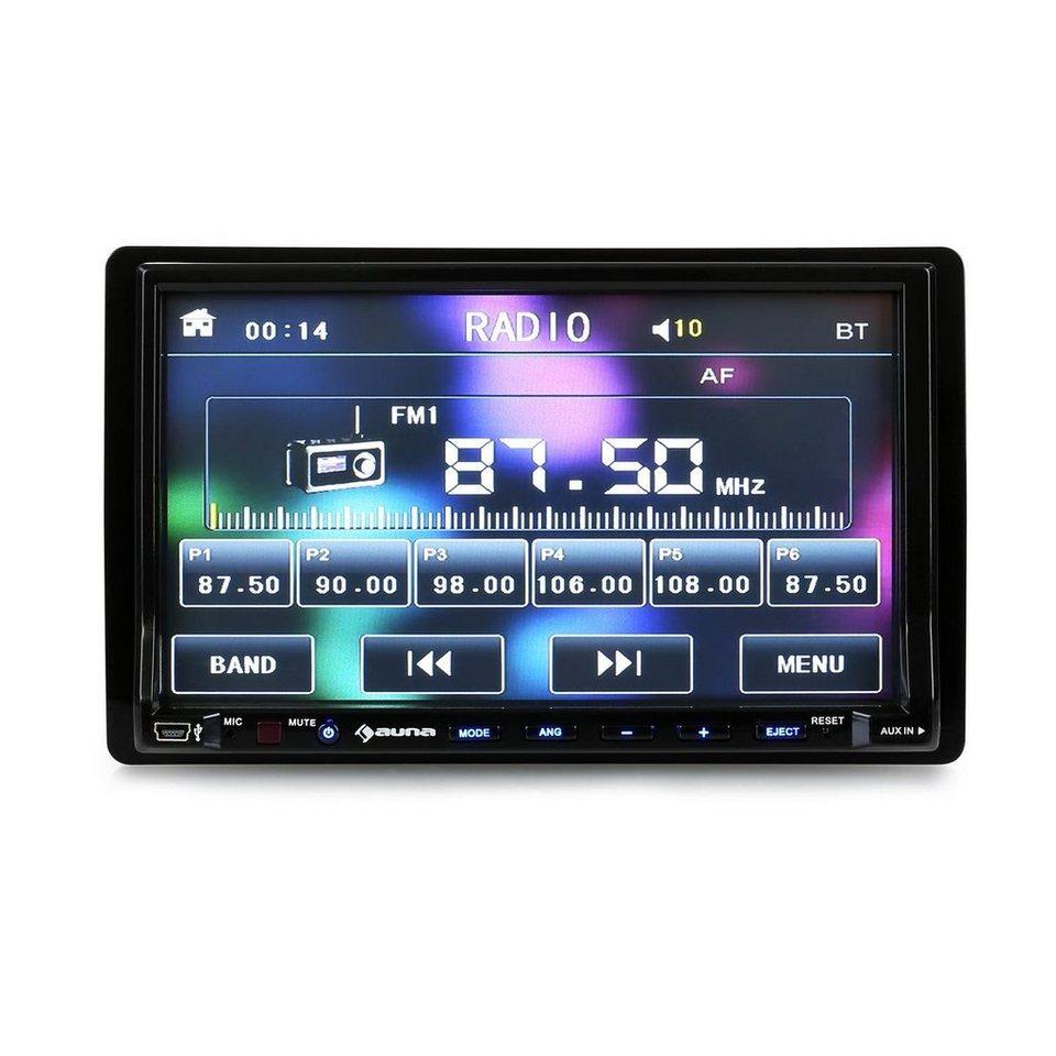 AUNA Autoradio Moniceiver 18cm-Display DVD-Player USB »DVA 72« in Schwarz