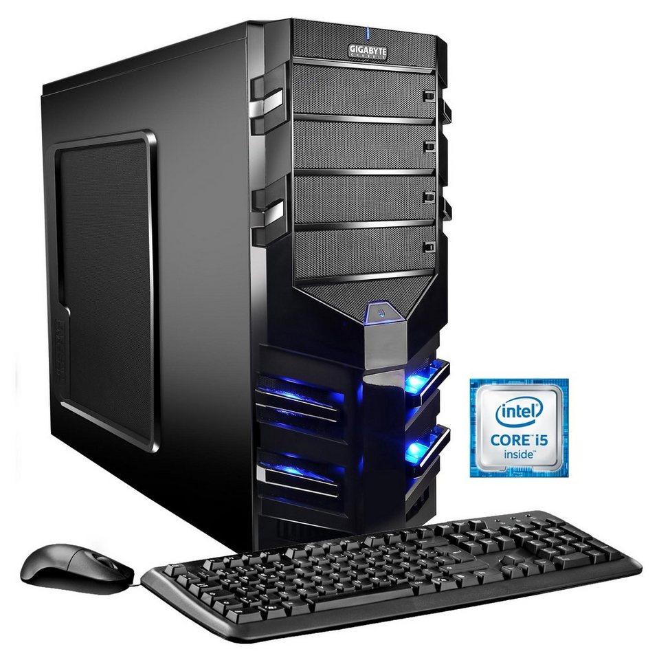 Hyrican Gaming PC Intel® i5-6600, 8GB, 1TB, GeForce® GTX 1050 Ti 4GB »Alpha Gaming 5377«