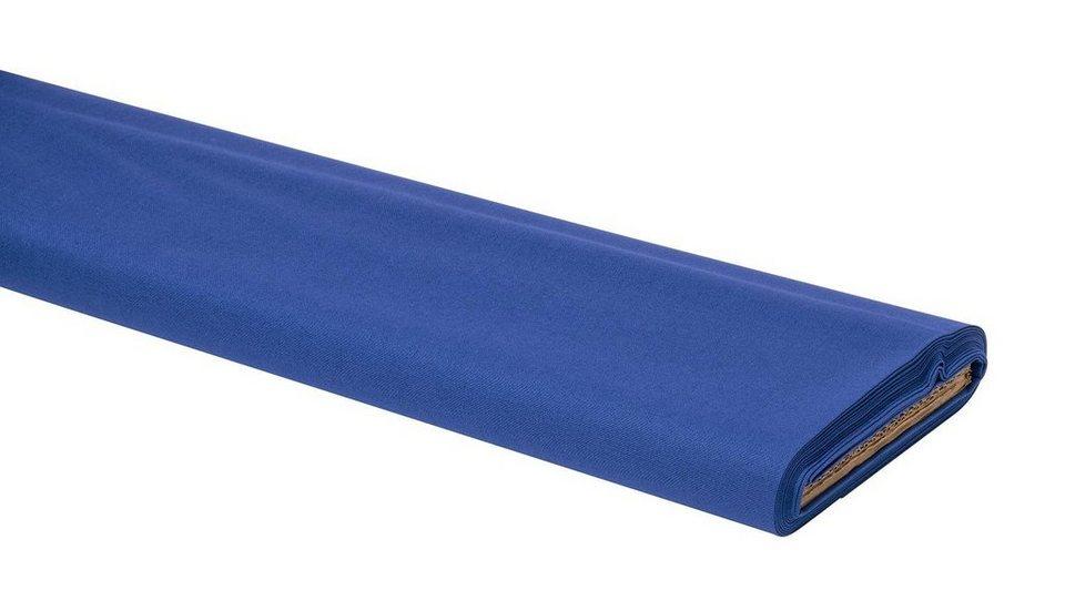 "Baumwoll-Stoff Uni ""Blau"" 147 cm breit (Meterware)"