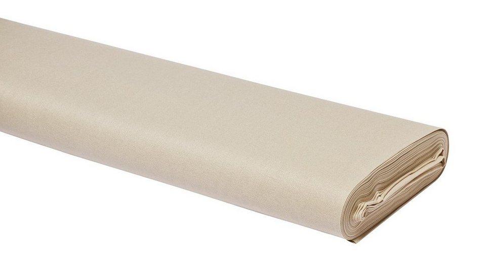 Meterware Uni-Baumwollstoff, 147cm, Sand