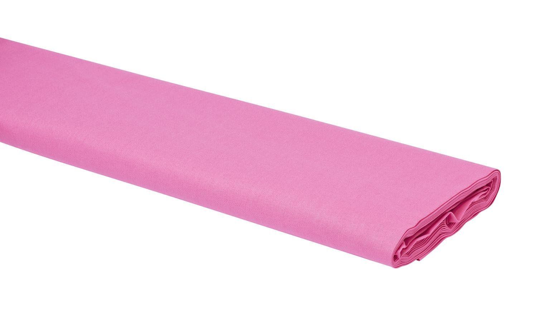 "Baumwoll-Stoff Uni ""Rosa"" 147 cm breit (Meterware)"
