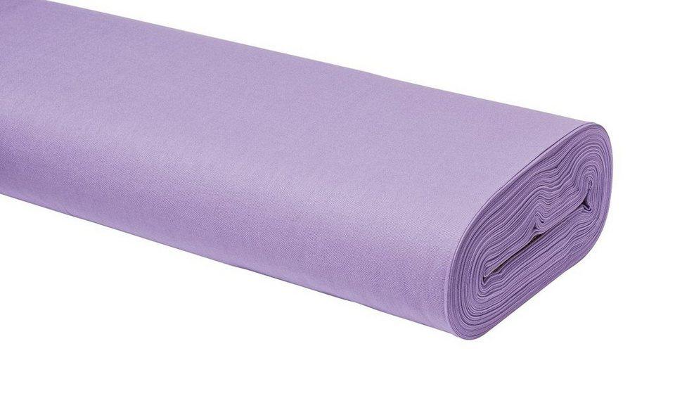 """Baumwoll-Stoff Uni """"Lavendel"""" 147 cm breit (Meterware) online kaufen"""