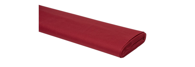 Meterware Uni-Baumwollstoff, 147cm, Orientrot