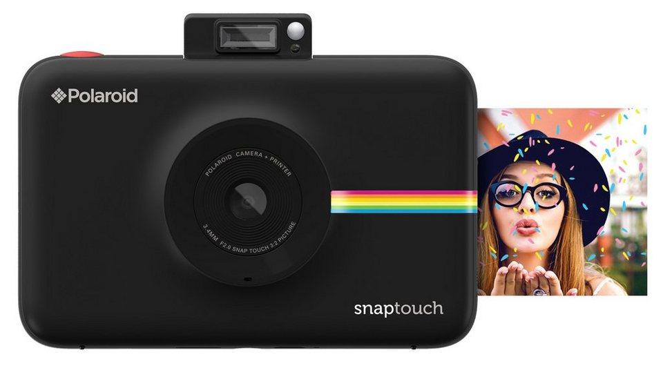Polaroid Sofortbildkamera mit ZINK® Drucktechnologie »Snap Touch™« in schwarz