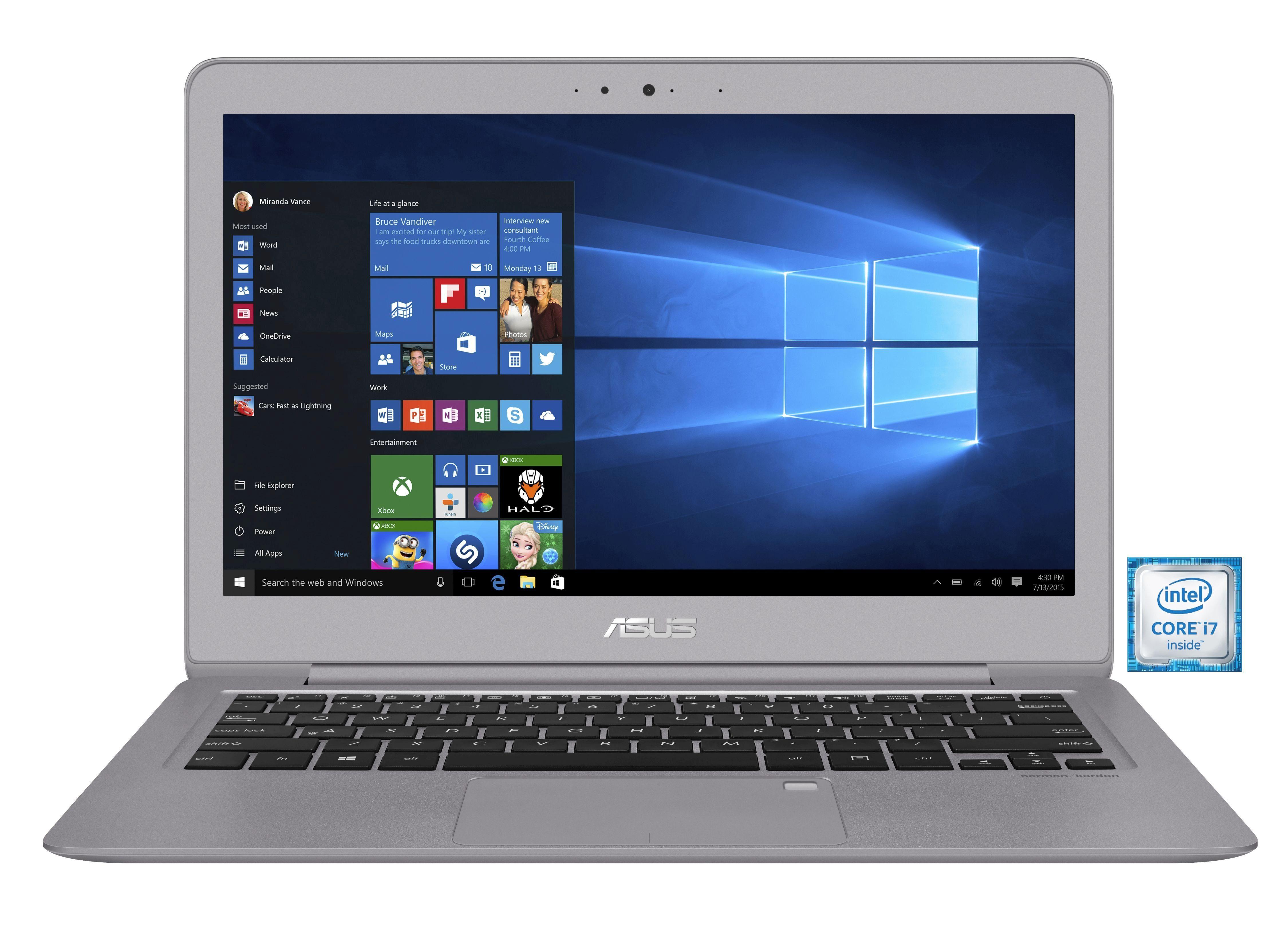 "ASUS UX330UA-FC079T Notebook »Intel Core i7, 33,7cm (13,3""), 256 GB SSD, 8 GB«"