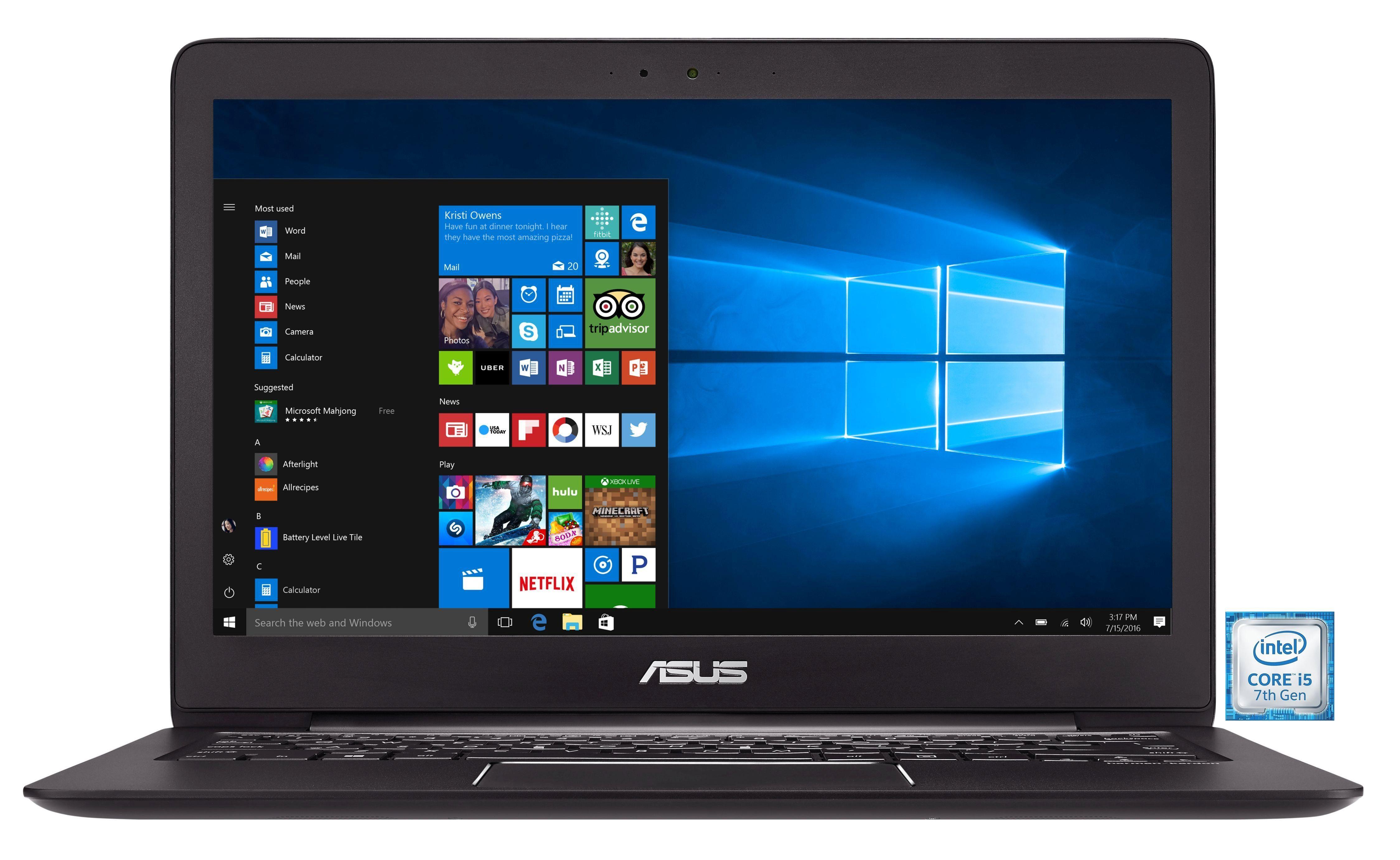 "ASUS UX330UA-FC078T Notebook »Intel Core i5, 33,7cm (13,3""), 256 GB SSD, 8 GB«"