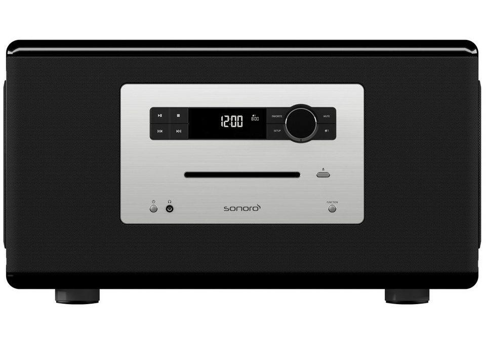 sonoro Musiksystem mit Bluetooth, FM/DAB/DAB+ »sonoroHIFI« in schwarz