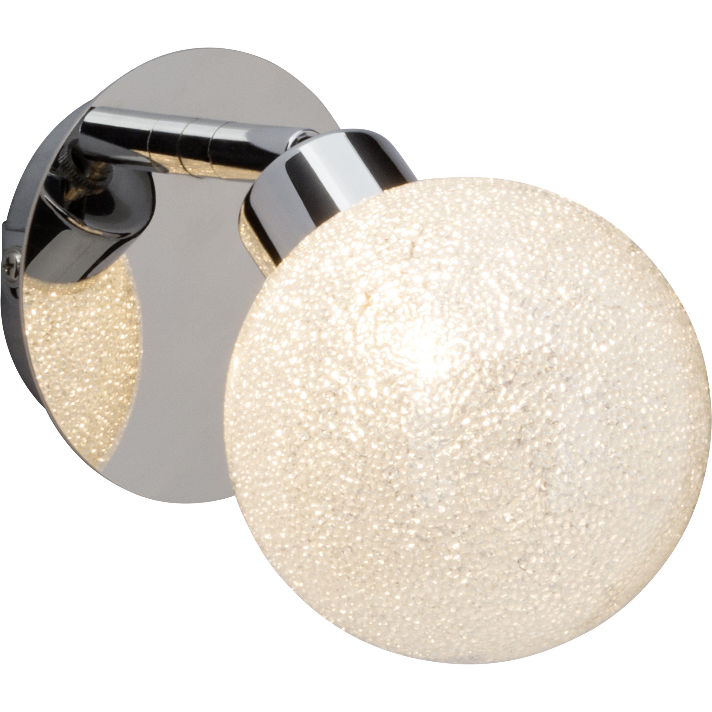 Brilliant Leuchten Pacome LED Wandspot chrom