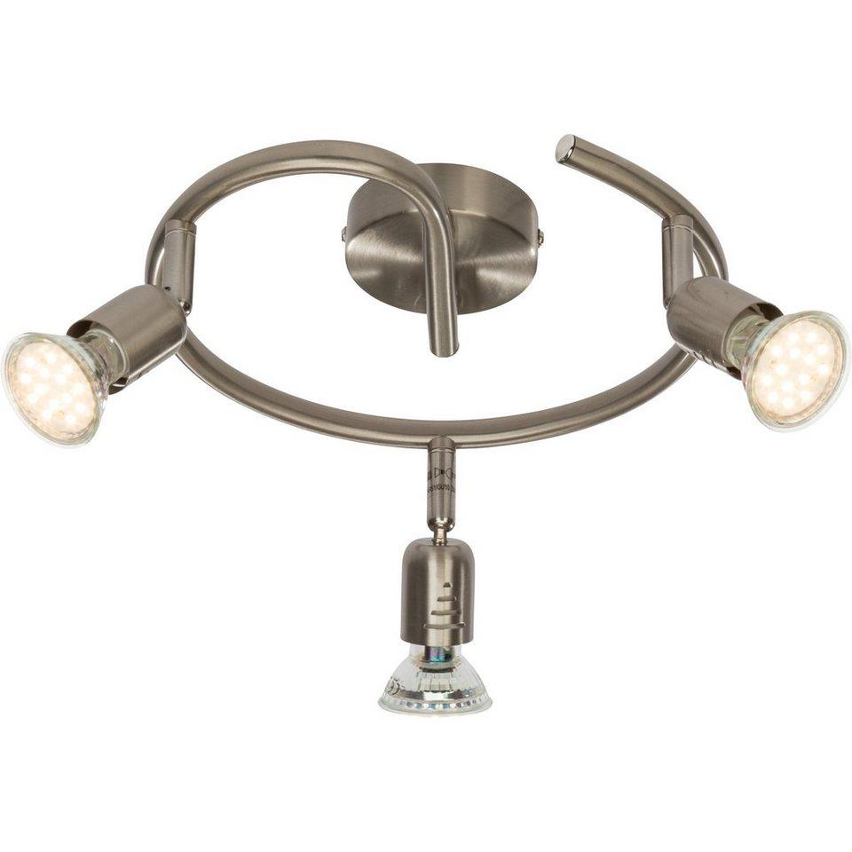 Brilliant Leuchten Loona LED Spotspirale, 3-flammig eisen in eisen