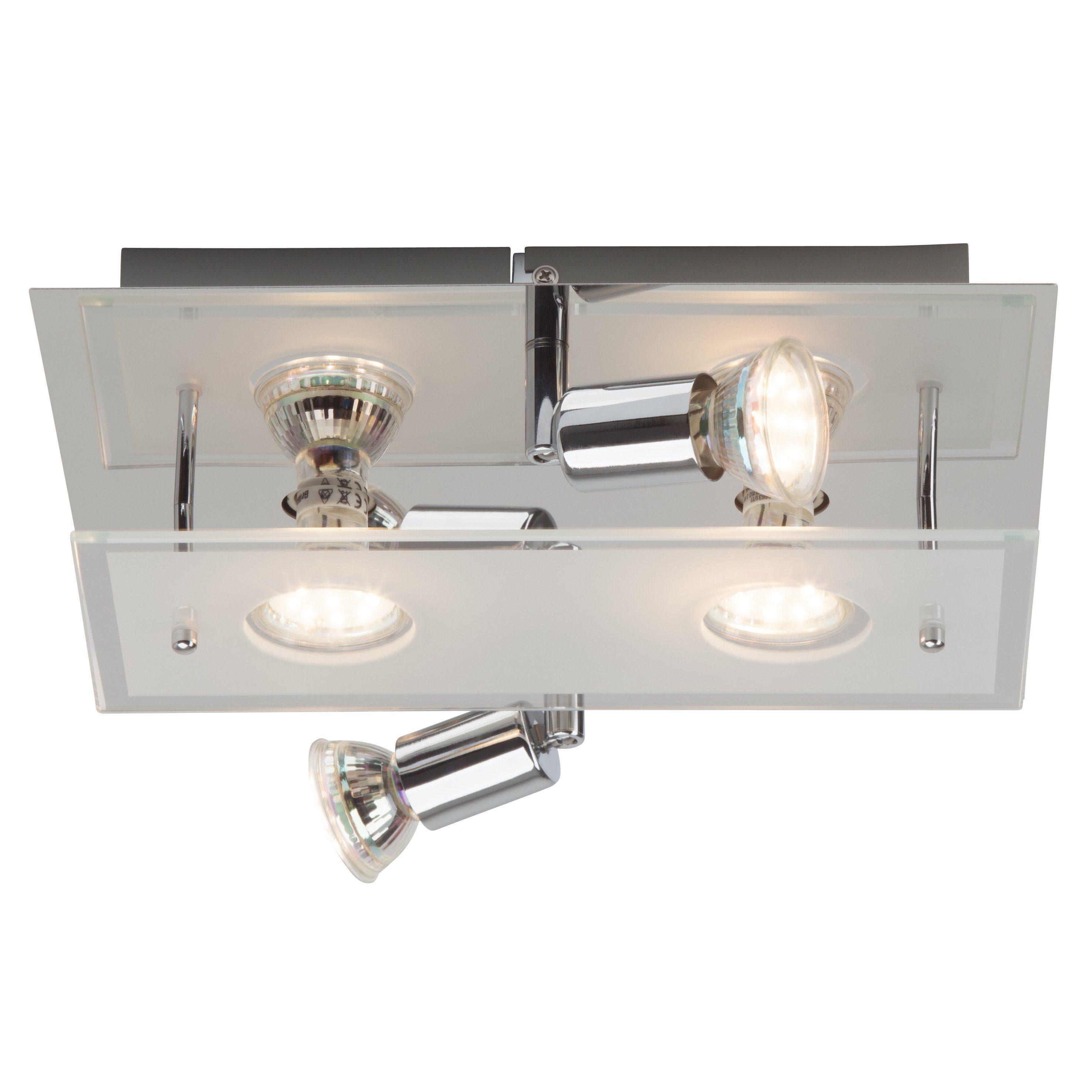 BreLight Virginia LED Deckenleuchte, 4-flammig chrom