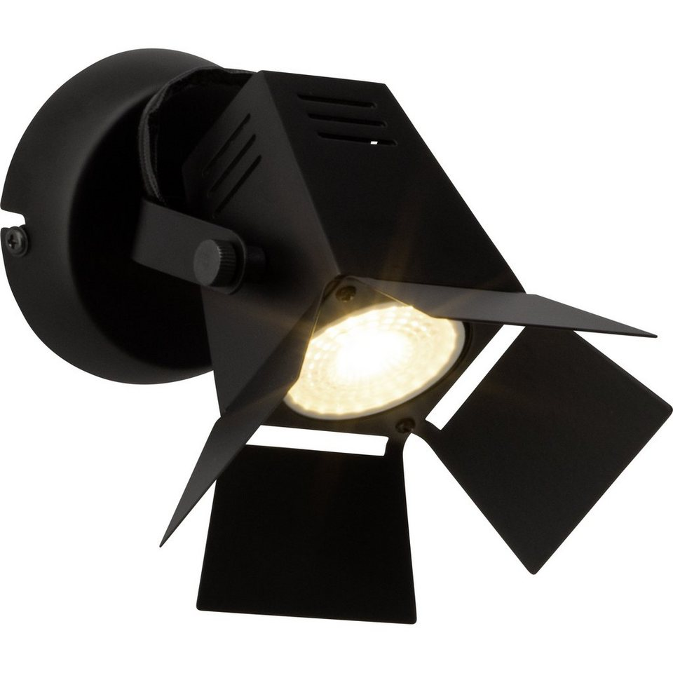 Brilliant Leuchten Movie LED Wandspot schwarz matt in schwarz matt