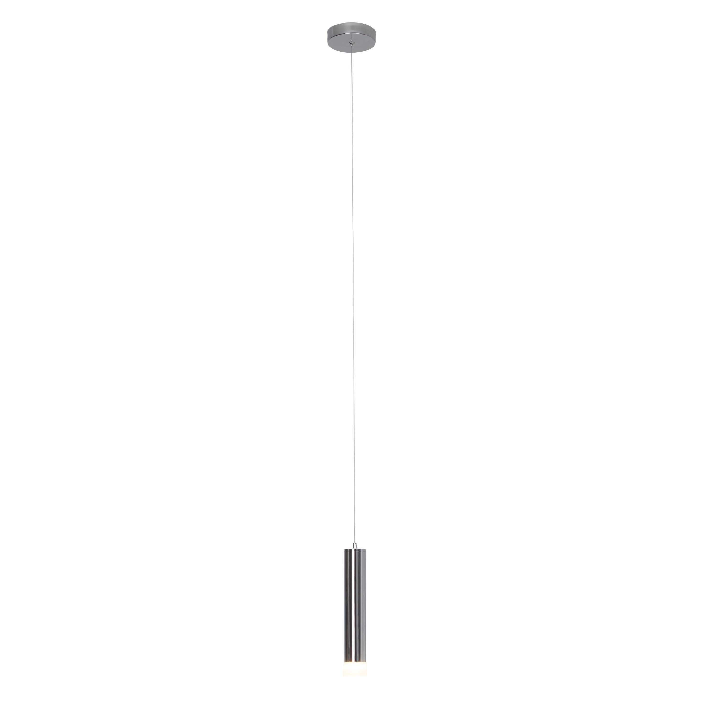 Brilliant Leuchten Style II LED Pendelleuchte, 1-flammig chrom
