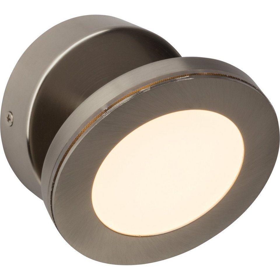 Brilliant Leuchten Sense Round LED Wandspot eisen in eisen