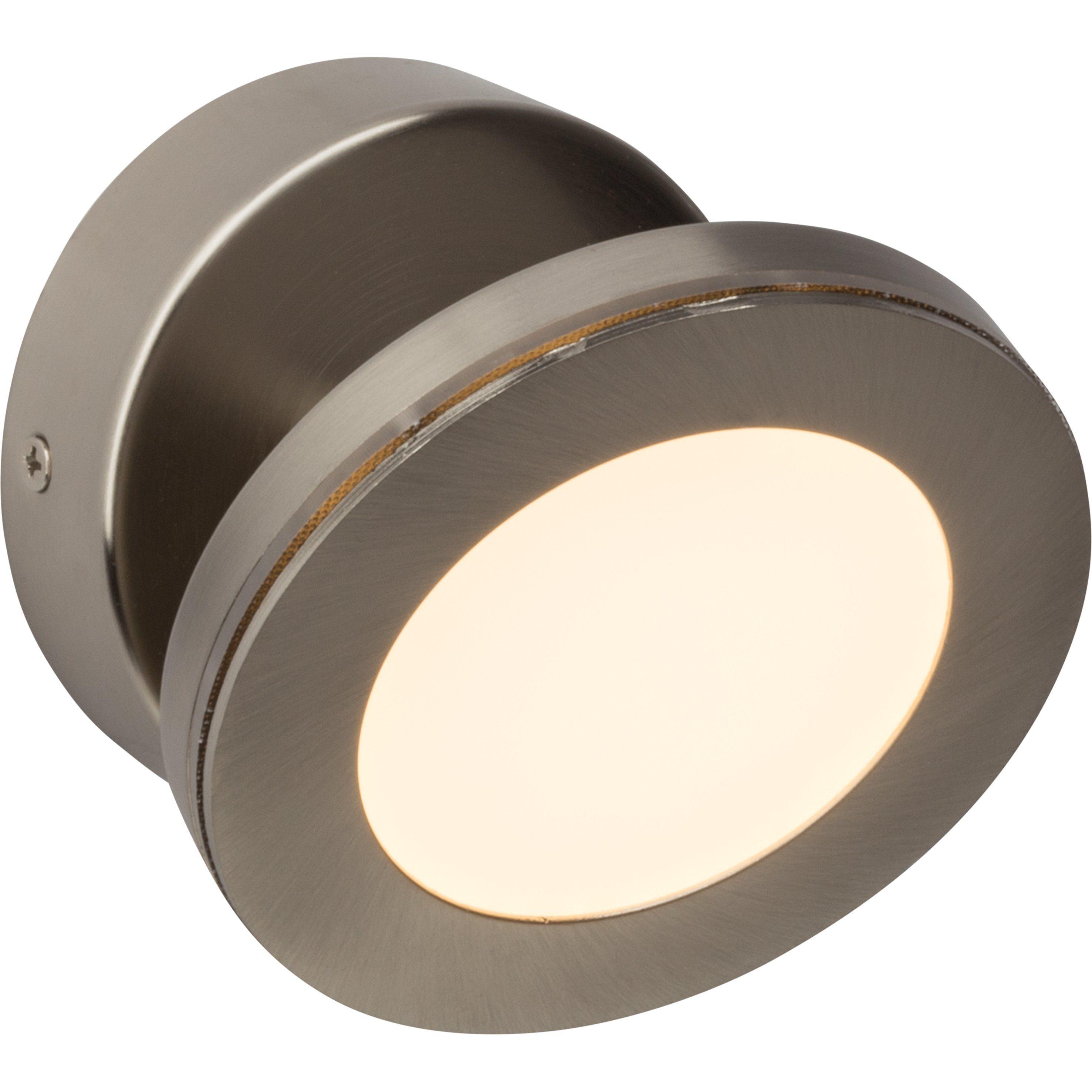 Brilliant Leuchten Sense Round LED Wandspot eisen