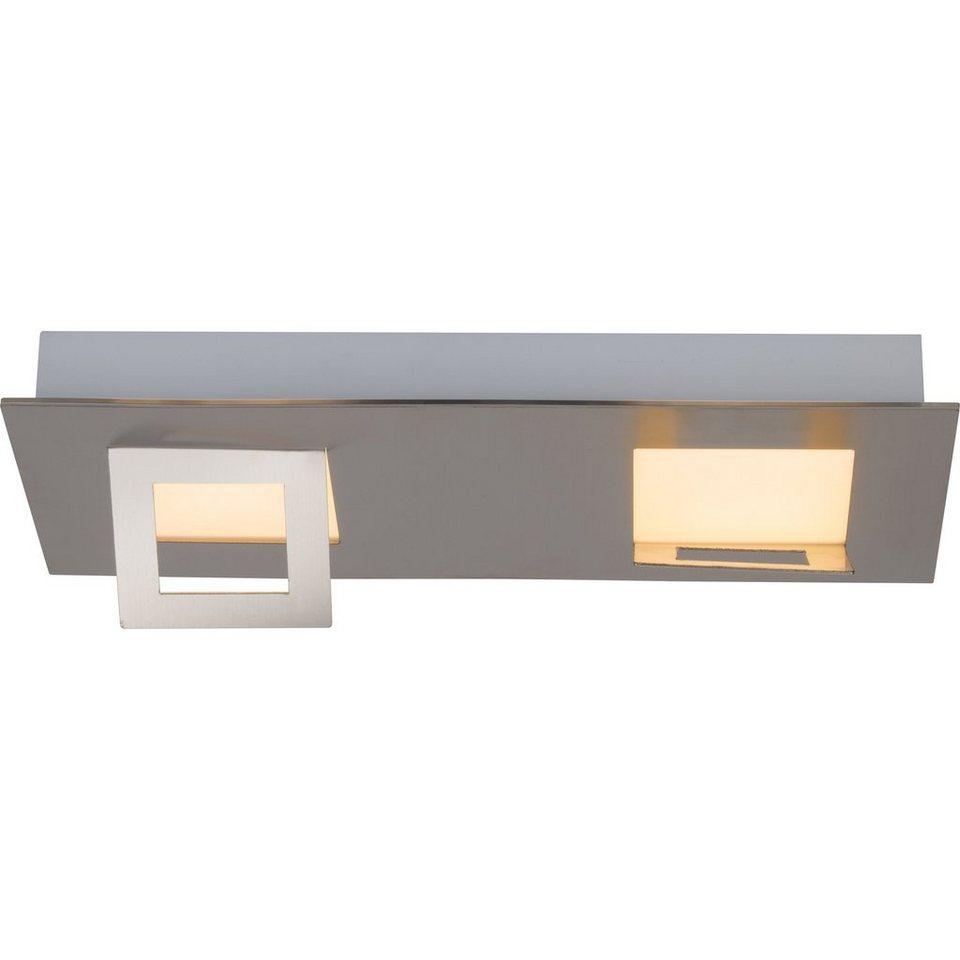 Brilliant Leuchten Doors LED Wand- und Deckenleuchte, 2-flammig eisen in eisen