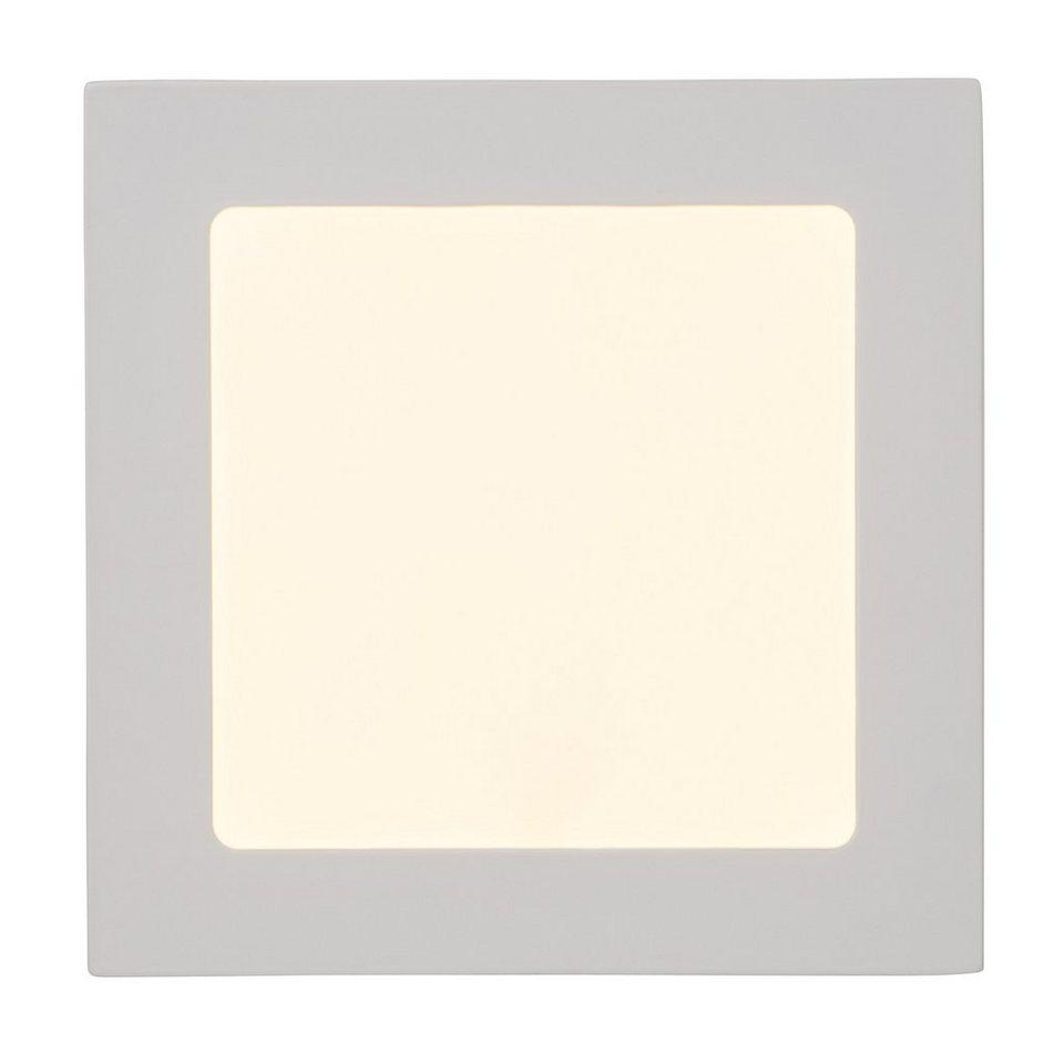 Brilliant Leuchten Kolja LED Einbauleuchte 12W weiß in weiß