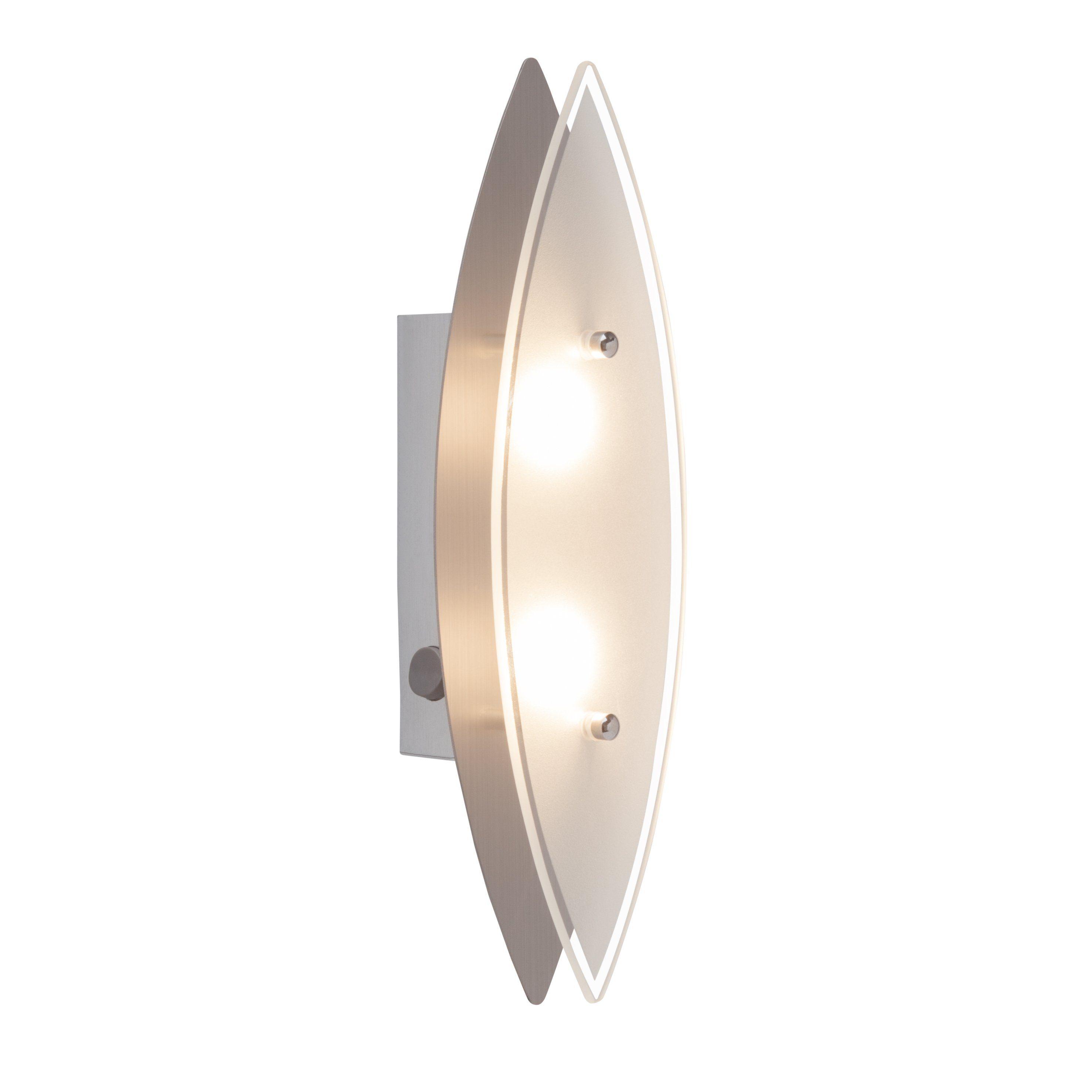 Brilliant Leuchten Oval LED Wand- und Deckenleuchte eisen