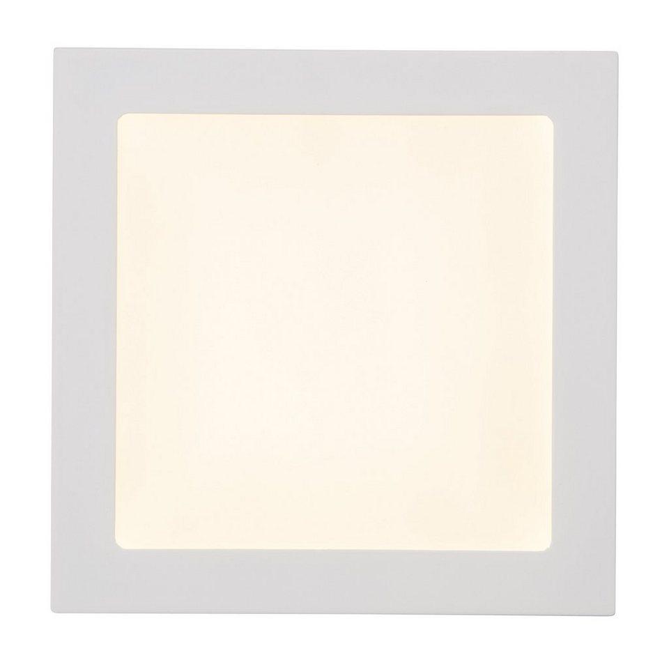 Brilliant Leuchten Kolja LED Einbauleuchte 18W weiß in weiß