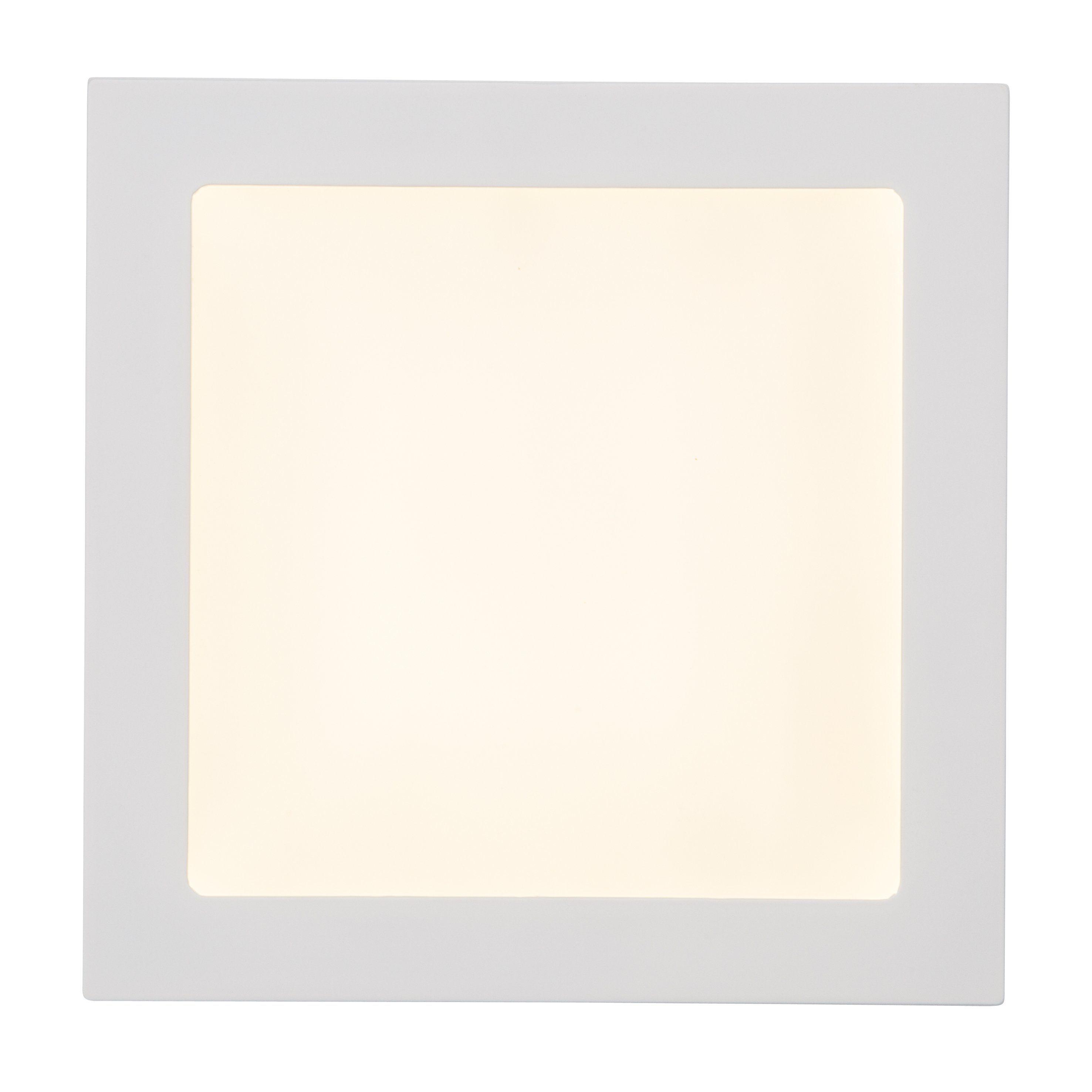 Brilliant Leuchten Kolja LED Einbauleuchte 18W weiß