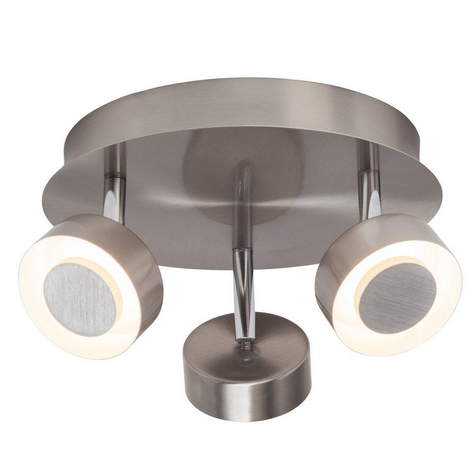 Brilliant Leuchten Orban LED Spotrondell, 3-flammig eisen in eisen