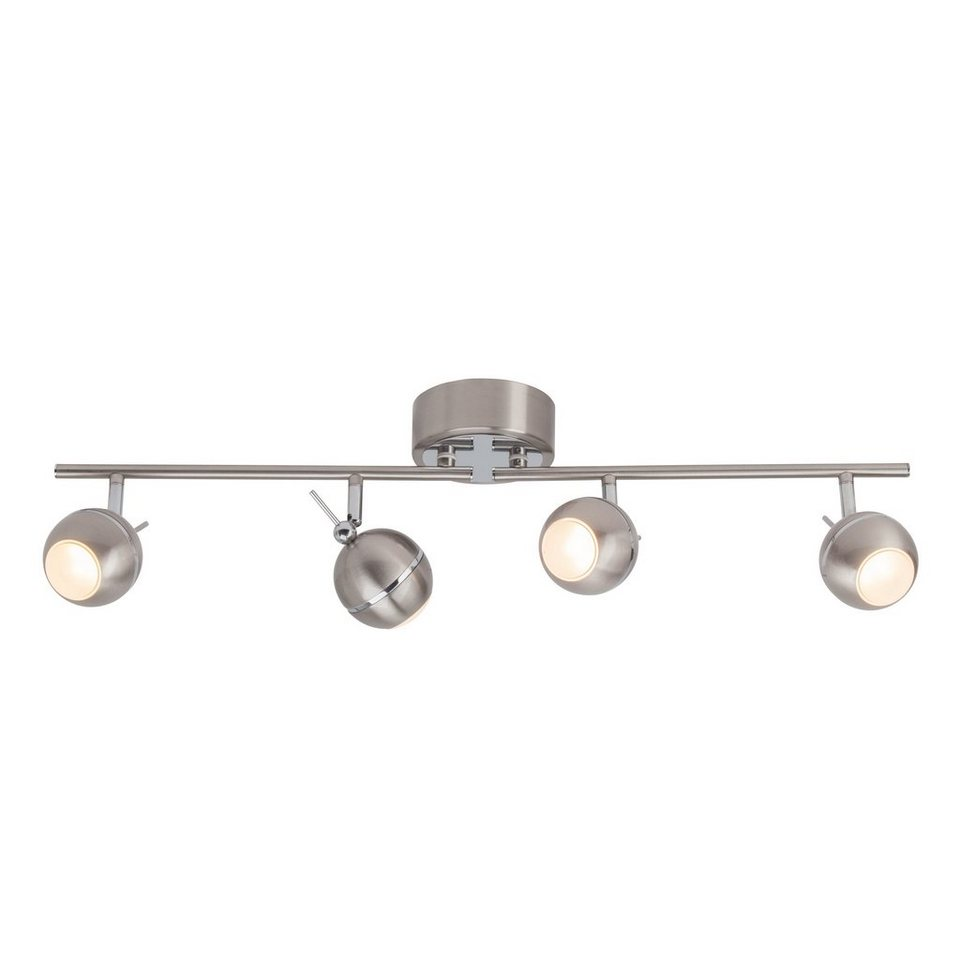 Brilliant Leuchten Comb LED Spotrohr, 4-flammig eisen/chrom in eisen/chrom