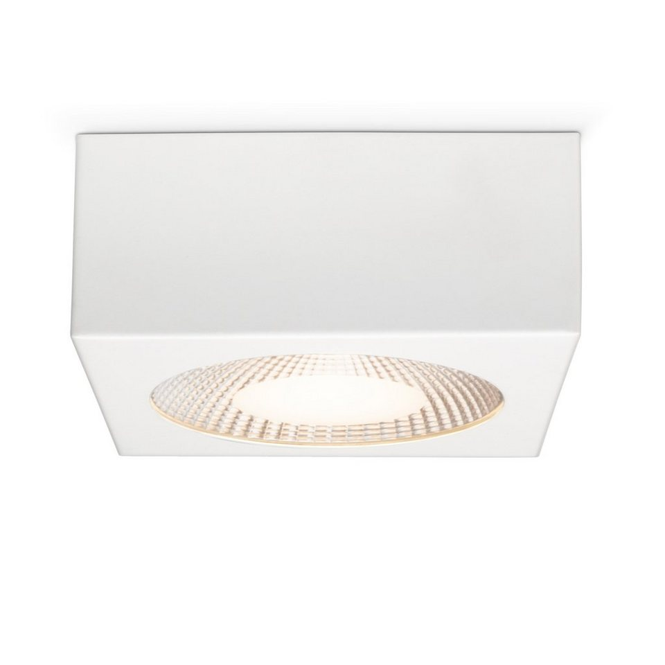Brilliant Leuchten Babett LED Aufbauleuchte 10W weiß in weiß