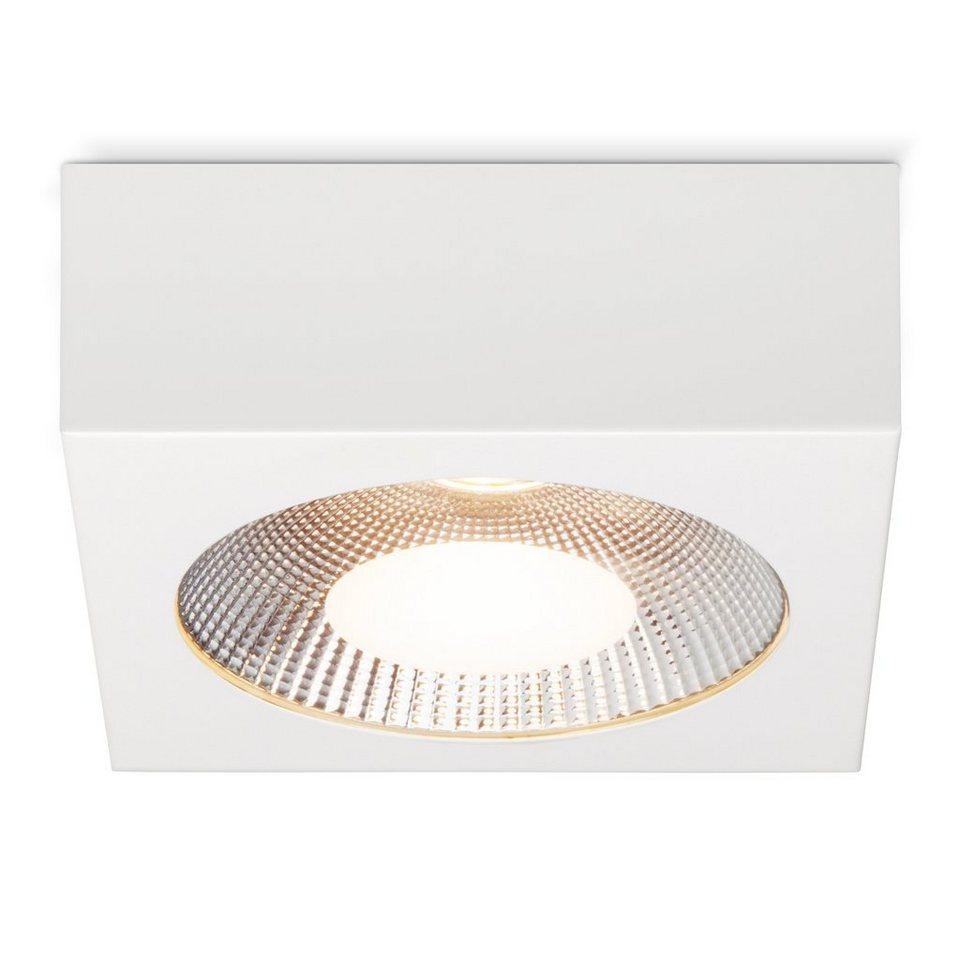 Brilliant Leuchten Babett LED Aufbauleuchte 20W weiß in weiß