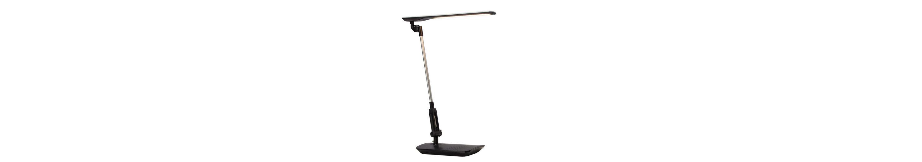 Brilliant Leuchten Badley LED Schreibtischleuchte schwarz/weiß